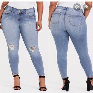 Torrid Size 16R Jegging Skinny Jeans